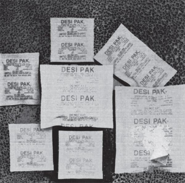 Desiccant for Industrial Enclosures  DESI PAK 4Unit Size